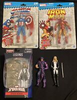 Marvel Legends Iron Man Captain America Avengers West Coast