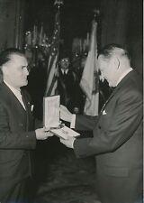René Coty c.1955 - 14 Photos Homme d'État  Président de la République - LPR 6