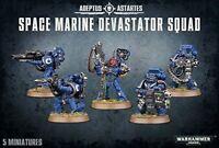 Space Marine Devastator Squad Warhammer 40K NIB Flipside