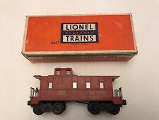 Lionel 6357 Caboose Comes in Box - Used