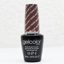 OPI GelColor Soak Off LED/UV Gel Nail Polish 0.5oz You Don't Know Jacques #GCF15