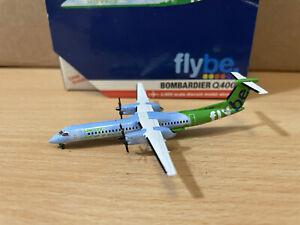 Flybe Q400 'Green' 1:400 (Reg G-JEDP) GJBEE862 Gemini Jets