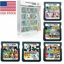 208/482/468/500/520 in1 Video Games Cartridge Cards For DS NDS 2DS 3DS NDSI NDSL