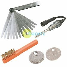 PROFESIONAL IGNITION SPARK PLUG TESTER, GAP GAUGE, FEELER GAUGE & CLEANING BRUSH