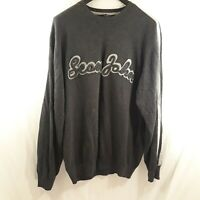 Sean John Men's 3XL Dark Grey Sweater