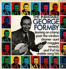 George Formby Inimitable Ukelele Man Leaning on a Lamp  Vinyl Album LP MFP1182