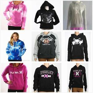 Special**Hurley**Womans 1999 Fleece Pullover Hoodie Jumper Sweatshirt Size S-XL