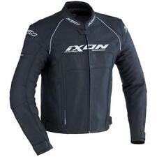 Blousons noirs Ixon en cuir pour motocyclette