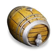 Wine, Rum, Whisky, or Beer Barrel w Tap 1.858/5 MED. Dollhouse Reutter Miniature