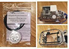 O-RING & SILICONE GRASSO Kit Per Panasonic dmw-mctz10 Subacquea Alloggiamento Custodia