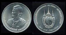 "THAILAND 20 BAHT ""QUEEN 80 YEAR BIRTHDAY""COMMEMORATIVE COIN 2012 UNC"