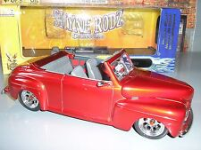 1948 Ford Convertible Red Yatming 30028 1/18 Scale Diecast Model