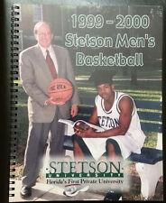 Lot of 4 Stetson University Hatters Basketball Media Guides 1999 2002 2003 2005