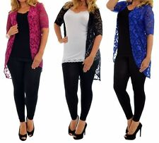 Women's Short Sleeve Plus Size Polyester Jumpers & Cardigans