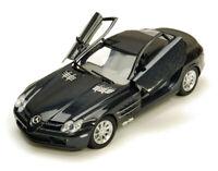 Mercedes Benz SLR McLaren Black Motormax 73306 1/24 Scale Diecast Model Toy Car