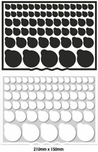 Dr Zzeds 130 Mixed Vinyl Blackout LED Light Cover Dims electronics stickers