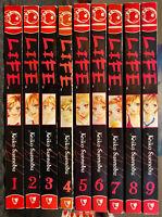 Life Manga 1-9 1, 2, 3, 4, 5, 6, 7, 8, 9 Shojo MATURE Drama Tokyopop OOP