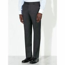 John Lewis Prince of Wales Check Tailored Charcoal Trousers BNWT SIZE 30R RRP 80