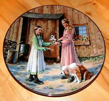 Little House on the Prairie MARY'S GIFT TV Show Country Plate