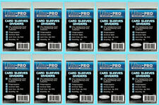 100 ULTRA PRO Trading CARD Sleeve DIVIDERS 81229 Index White Section Storage Box