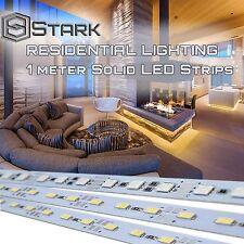 1M 72 LED 5050 RGB or 5630 SMD Strip Single Color Light Aluminum Case Display