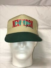 New York Fishin Fishing Hat Cap SnapBack Adjustable Made In The USA