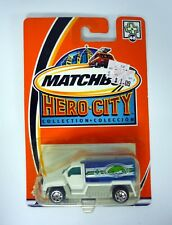 MATCHBOX FIRE TANKER Hero-City Collection Die-Cast MOC COMPLETE 2002