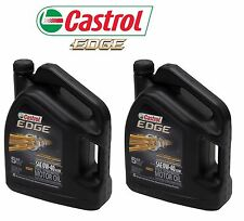 10 Quarts Pack 0W40 CASTROL EDGE Engine Motor Oil BMW Longlife 01 Porsche A40