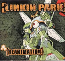 LINKIN PARK REANIMATION 2004 TRIPLE GATEFOLD WITH BOOKLET USED