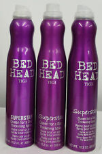 Tigi Bed Head Superstar Queen for a Day Spray 10.2 oz PACK OF 3 ( dented)