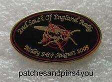 Harley Davidson HOG Bisley SOFER 2005 Pin NEW!! FREE U.K. POSTAGE!