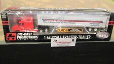 DCP #30364 A U.S XPRESS DIRECT INC FL SEMI CAB TRUCK & DRY VAN TRAILER 1:64/ FC