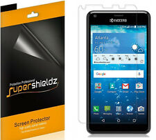 6X Supershieldz HD Clear Screen Protector Shield Saver For Kyocera Hydro Shore