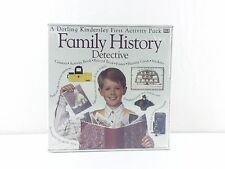 Family History Detective First Activity Pack Camera Book Poster Stickers Cards
