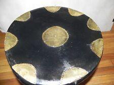 "Arts of Africa - Bamileke Stool - Cameroon - 17"" H x 15"" W x 48"" Cir"