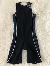 BlueSeventy Men's Triathlon Race One-piece Suit Sleeveless Size Medium Blk