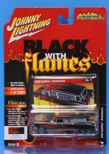 JOHNNY LIGHTNING Street Freaks # 4 2021 R1/B OFF ROAD 1959 Cadillac Ambulance