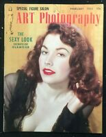ART PHOTOGRAPHY Magazine - Feb 1953 - Girlie / Pin-Up / Nude / Cheesecake
