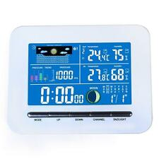 Wireless Color Display Weather Station Indoor&Outdoor Thermometer Humidity #gib