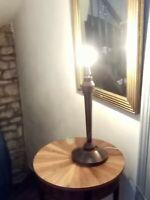 Ancien grand pied de lampe style MAZDA hauteur 51cm