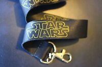 ORIGINAL STAR WARS LOGO Lanyard Neck Strap Keychain ID Badge Holder REBEL ONE