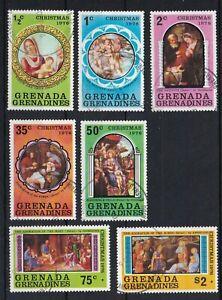 GRENADA GRENADINES 1976 Christmas Set USED