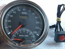 Harley Speedo with Built-in Tach
