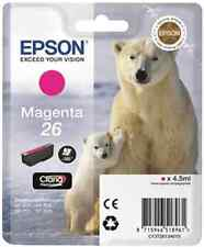 EPSON T2613 26 ORIGINAL MAGENTA INK, POLAR BEAR, FOR Expression Premium XP-600