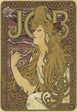 Art Deco Print JOB Rolling Paper French Poster