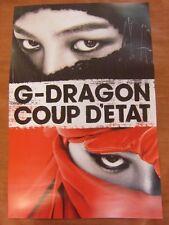 G-DRAGON - Coup D'etat [OFFICIAL] POSTER *NEW* K-POP GD BIGBANG