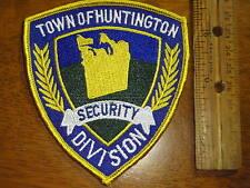HUNTINGTON NEW YORK SECURITY PATCH LONG ISLAND NEW YORK POLICE  BX P2