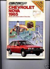 Chevy Nova 1985 , Chilton pb