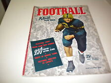 1942 FOOTBALL PICTORIAL YEARBOOK  NICE !!!!