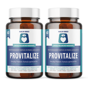2 Pack Provitalize Probiotic - Weight Management - Sleep & Gut Support - 2 Month